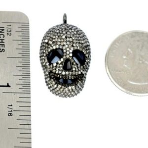 Jewelry - Pave Diamond Skull Pendant